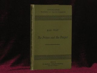 THE PRINCE AND THE PAUPER. Mark Twain, E. Lobedanz