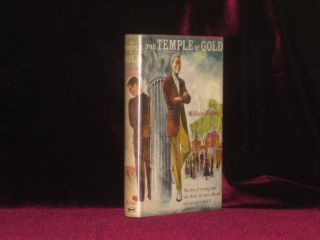 THE TEMPLE OF GOLD. William Goldman, SIGNED.