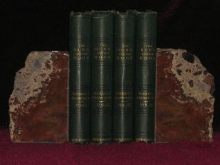 THE RING AND THE BOOK. Four Volumes. Robert Browning
