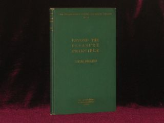 BEYOND THE PLEASURE PRINCIPLE. The International Psycho-Analytical Library No. 4. Sigmund Freud