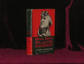 BAA BAA BLACK SHEEP. Pappy BOYINGTON, SIGNED.