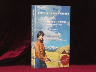 Death Without Company (Signed). Craig Johnson