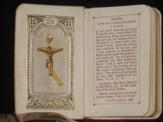 KEY OF HEAVEN. An Ideal Prayerbook With Beautiful Colored Pictures