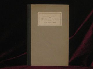 MELLONEY HOLTSPUR or, the Pangs of Love. John Masefield, SIGNED.