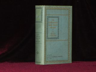 THE THOUSAND AND FIRST NIGHT. Grant OVERTON, SIGNED to Joseph Conrad.