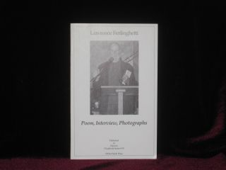 POEM, INTERVIEW, PHOTOGRAPHS. Lawrence FERLINGHETTI, SIGNED