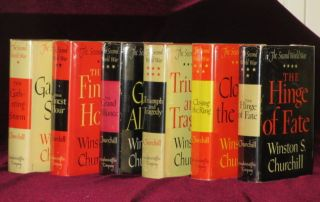 The Second World War (6 volumes). Sir Winston Churchill.