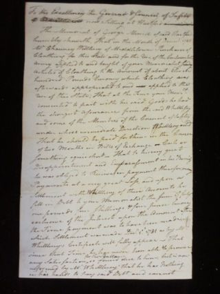 Manuscript Document Signed By Samuel Huntington and Two Related Documents