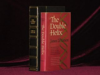 The Double Helix. A Personal Account of the Discovery of the Structure of DNA. James D. Watson, SIGNED.