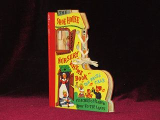 The Shoe House Nursery Rhyme Book. The Pages Talk. Teaches Children How to Tie Laces