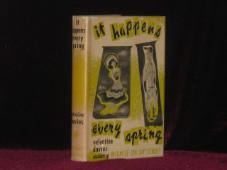 IT HAPPENS EVERY SPRING. Valentine Davies, SIGNED