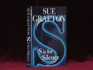 S IS FOR SILENCE. Sue GRAFTON, SIGNED