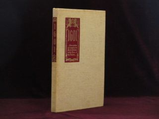 MARK TWAIN'S [DATE, 1601] Conversations as it Was By the Social Fireside in the Time of the...