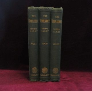 THE WOODLANDERS. Three Volumes. Thomas Hardy.