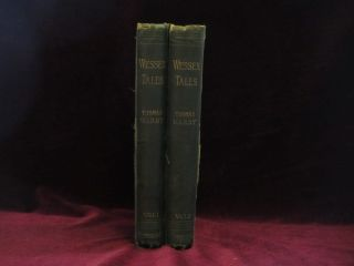 WESSEX TALES. Strange, Lively, and Commonplace, Two Volumes. Thomas Hardy.