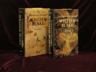 The Paintings and Drawings of William Blake (2 Volumes, Text and Plates). Martin Butlin.