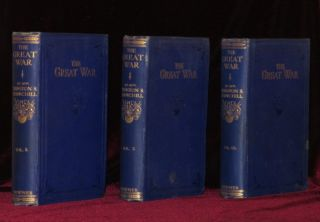 THE GREAT WAR. Three Volumes. Sir Winston Churchill.