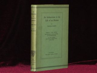AN INDISCRETION IN THE LIFE OF AN HEIRESS. Thomas Hardy, Carl J. Weber.
