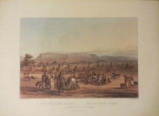 Travels in the Interior of North America (Missouri River Expedition). Karl Bodmer, Maximilian...