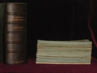 The Life and Adventures of Nicholas Nickleby (20 Parts in 19). Charles Dickens