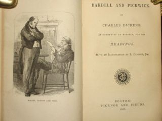 The Readings of Mr. Charles Dickens