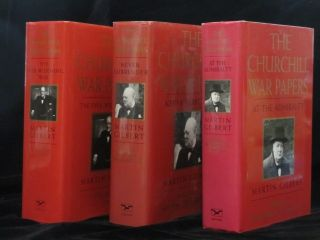 THE CHURCHILL WAR PAPERS. Vol. I. At the Admiralty September 1939 - May 1940. Vol. 2 Never...