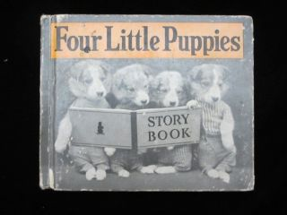 FOUR LITTLE PUPPIES. Harry Whittier FREES, Photographer
