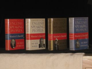 A History of the English-Speaking Peoples (Publisher's Presentation Copy). Sir Winston S. Churchill.