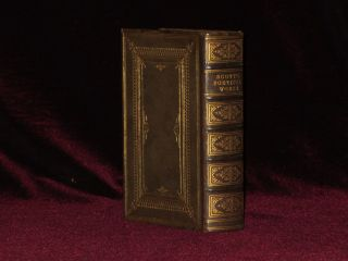 THE POETRICAL WORKS OF SIR WALTER SCOTT. [With Beautiful Fore-Edge Painting]