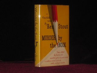 Murder By the Book. A Nero Wolfe Novel. Rex Stout.