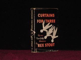Curtains for Three. A Nero Wolfe Threesome. Rex Stout.