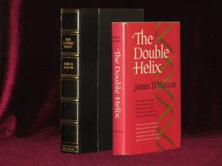 The Double Helix. A Personal Account of the Discovery of the Structure of DNA (Review Copy). James D. Watson, SIGNED.