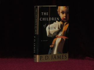 THE CHILDREN OF MEN. P. D. James, SIGNED