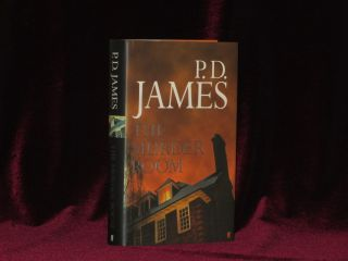 THE MURDER ROOM. P. D. James, SIGNED