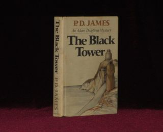 THE BLACK TOWER. P. D. James, SIGNED