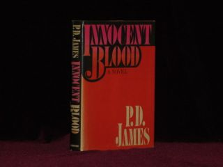 INNOCENT BLOOD. P. D. James, SIGNED