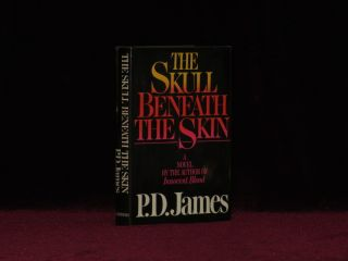 THE SKULL BENEATH THE SKIN. P. D. James, SIGNED
