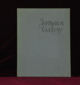 JAMAICA GALLERY. Limited Edition. Philip . KAPPEL, John P. Marquand, SIGNED