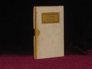 A Dickens Anthology. Sidney Macer-Wright