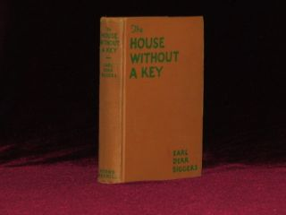 The House Without a Key (Inscribed). Earl Derr Biggers