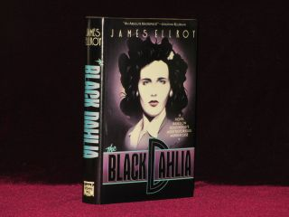 THE BLACK DAHLIA (with a Poetic inscription). James Ellroy