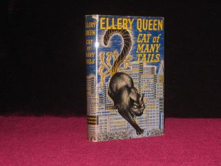 Cat of Many Tails. Inscribed. Ellery Queen