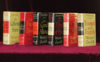 The Second World War. Six Volumes. Sir Winston Churchill