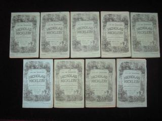 The Life and Adventures of Nicholas Nickleby.....with Illustrations By Phiz. Annotated By Bibliographer Thomas Hatton