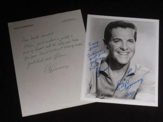 "Autograph Letter Signed [together with] 8"" x 10"" Photo Inscribed [together with] Jacket and..."