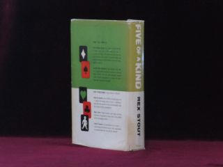 FIVE OF A KIND. The Third Nero Wolfe Omnibus