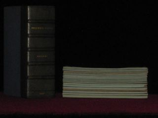 The Posthumous Papers of the Pickwick Club - 20 Parts in 19 - A NEAR PRIME SET, HAVING 8 OF 11...