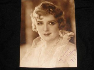 "Photo, Inscribed and Signed (7"" x 9""). Mary Pickford, Gladys Smith"