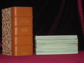 The Life and Adventures of Martin Chuzzlewit (Publisher's Presentation Copy; Original parts)....