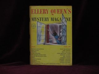 Ellery Queen's Mystery Magazine. October, 1948. Ellery Queen, Philip MacDonald, Howard Haycraft